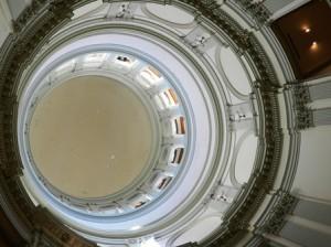 06 peeling paint in rotunda