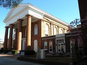 17 First Baptist front