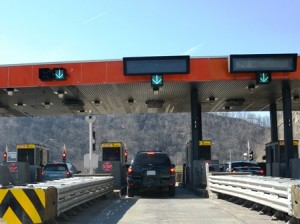 22 toll booth