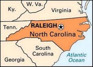 25 raleigh map