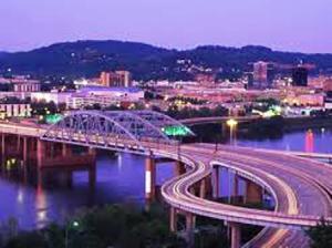 25 river bridge night