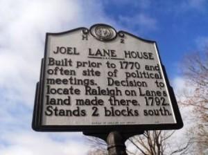 27 joel lane marker