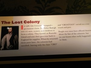 27 lost colony sign