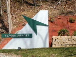 28 airport sign