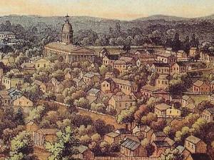 07 1854 Indiana capitol