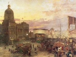 07 1895 Indiana capitol