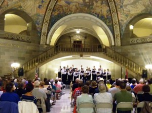 27 choir capitol