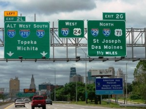 01 topeka on 70 sign