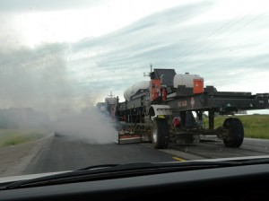 13 paving smoke