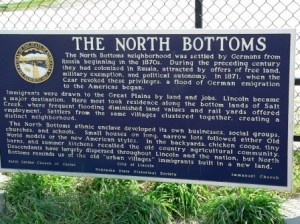 15 north bottoms sign
