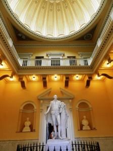 15 statue and rotunda