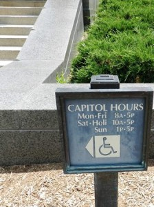 17 capitol hrs sign