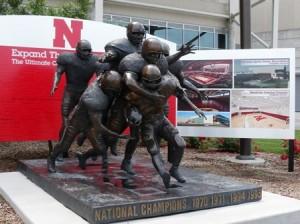 21 football statues