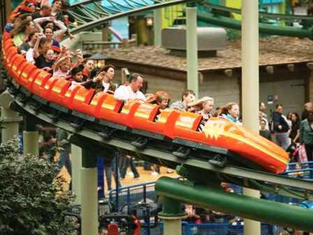 Enjoy the thrill of SpongeBob SquarePants Rock Bottom Plunge, Pepsi Orange Streak, Splat-O-Sphere, Avatar Airbender and Fairly Odd Coaster.  Our younger guests can enjoy family rides on El Circulo del Cielo, Log Shoot, Naked Brothers Crazy Cars or The Carousel.Experience one-of-a-kind shopping in Nickelodeon Universe featuring the Nickelodeon Store, showcasing the largest selection of Nickelodeon merchandise in the country; TOYS, filled with appealing games and toys; and NU Stuff, featuring an exclusive signature line of Nickelodeon merchandise.