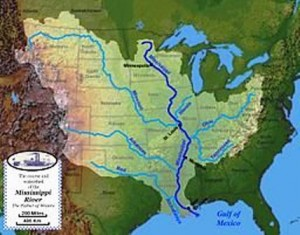 15 ms river watershed