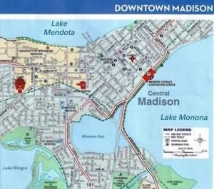 21 madison map