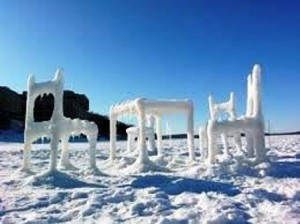 23 frozen chair