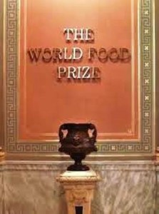 27 world food prize