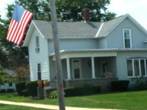 13 flag porch