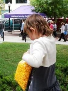 27 girl popcorn