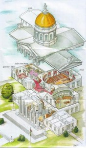 11 Vermont State House Cutaway