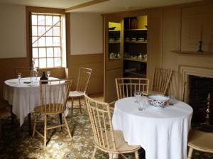 21 tables set