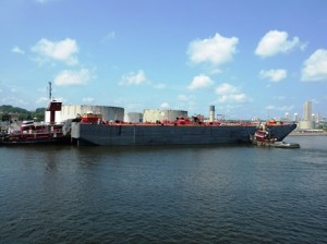 27 fuel barge