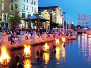 Panorama at RISD & Downtown Providence