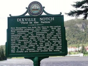 30 dixville sign