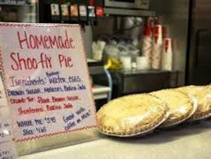 13 shoo fly pie