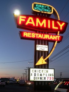 20 restaurant sign