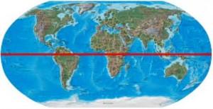 26 equator map