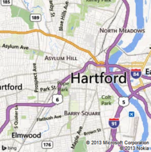 27 hartford map