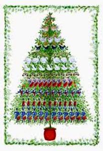 06 12 days of christmas tree