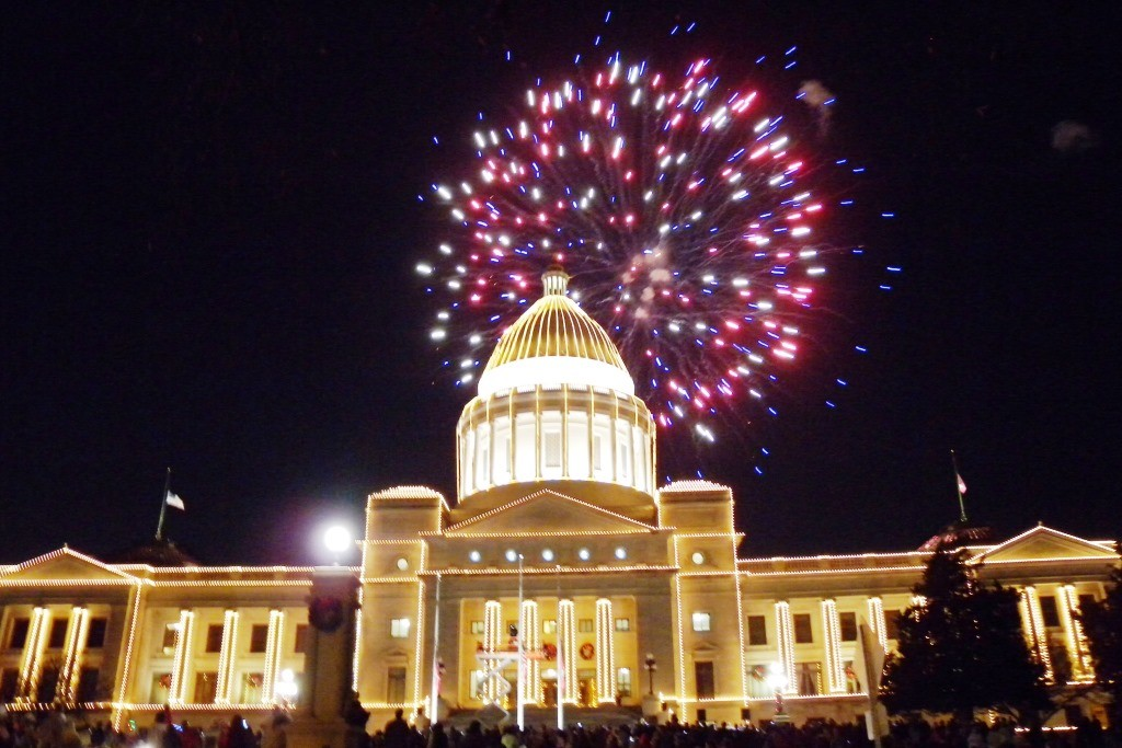00 little rock capitol fireworks