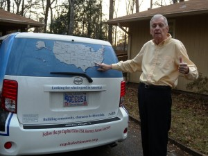 19 Craig car map