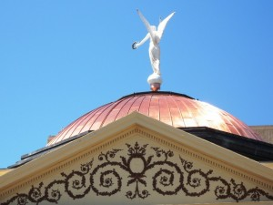 21 Capitol Arizona Dome and Winged Victory