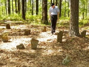 21 Craig walking cemetery
