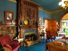 Mark Twain Library Mantel