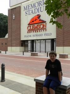 12 Clemson Stadium Sam