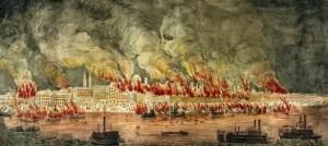 30.cholera epidemic fires