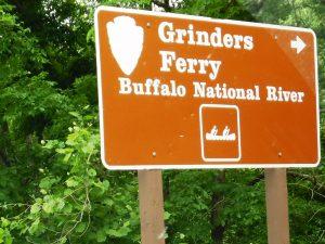 29 buffalo river sign
