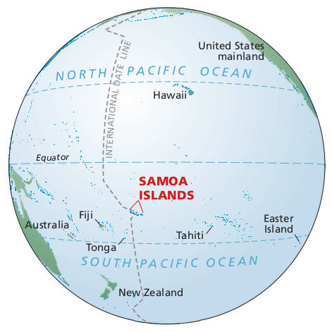 16.map pacific islands