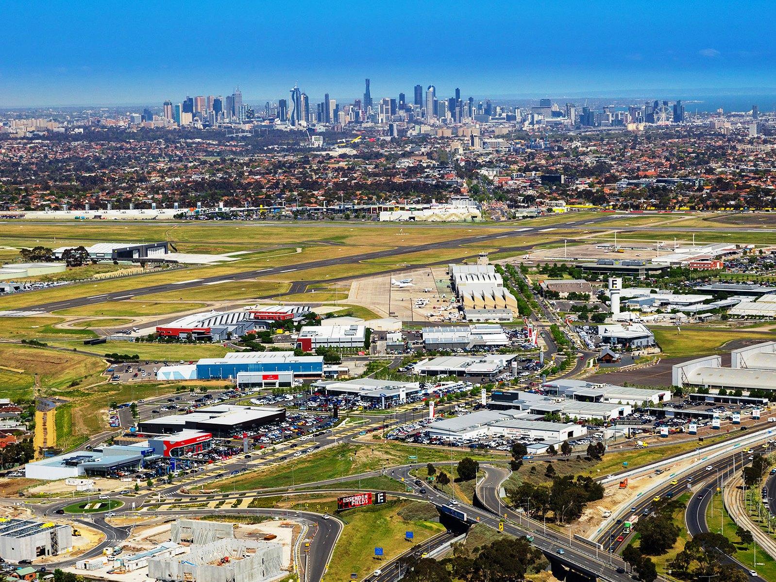 28.melbourne airport city
