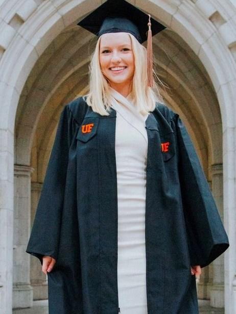Kaitlyn Graduation Cap.Gown