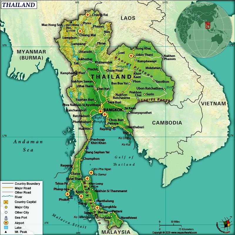 02.map thailand