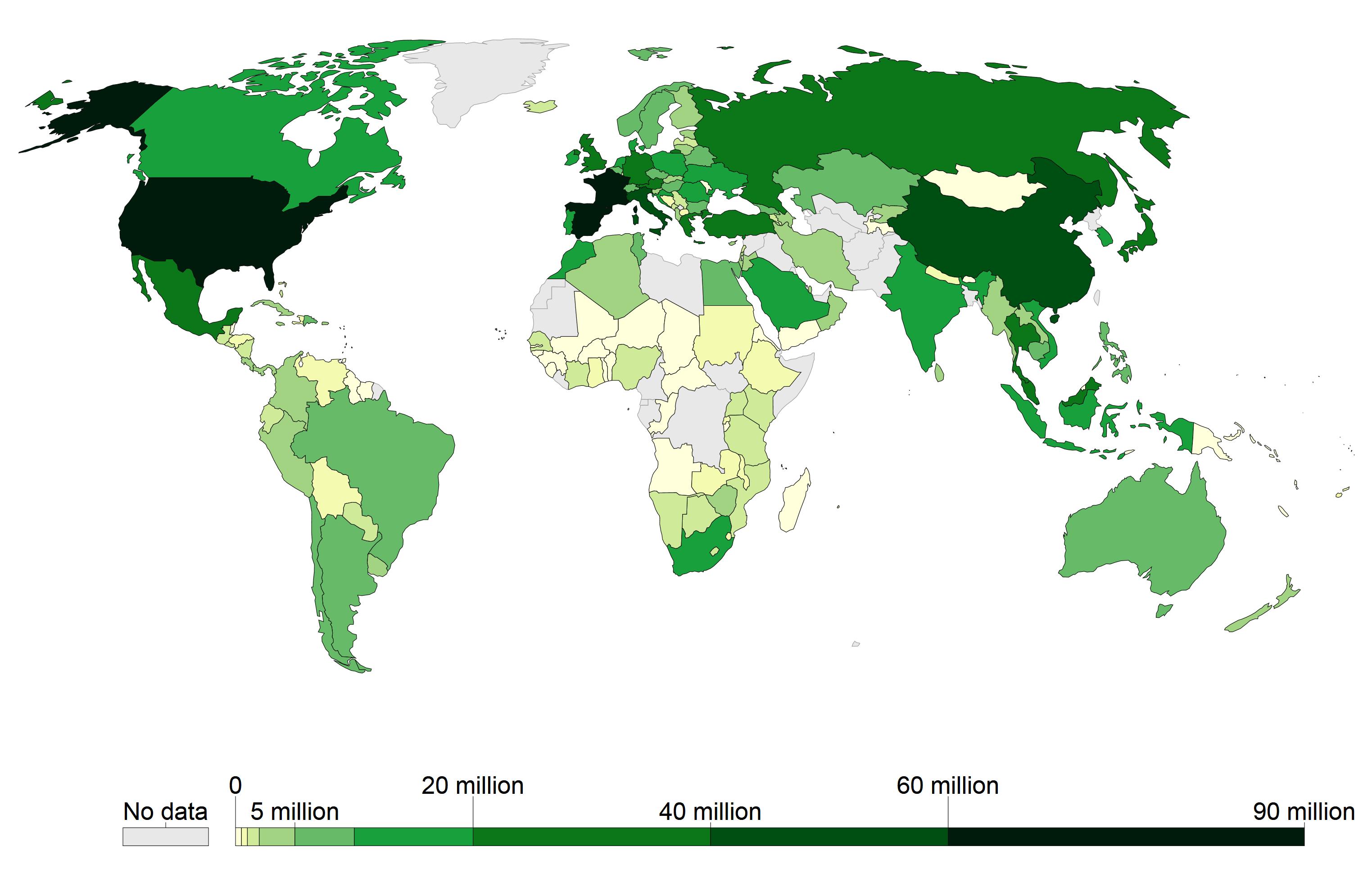 02.map tourism world