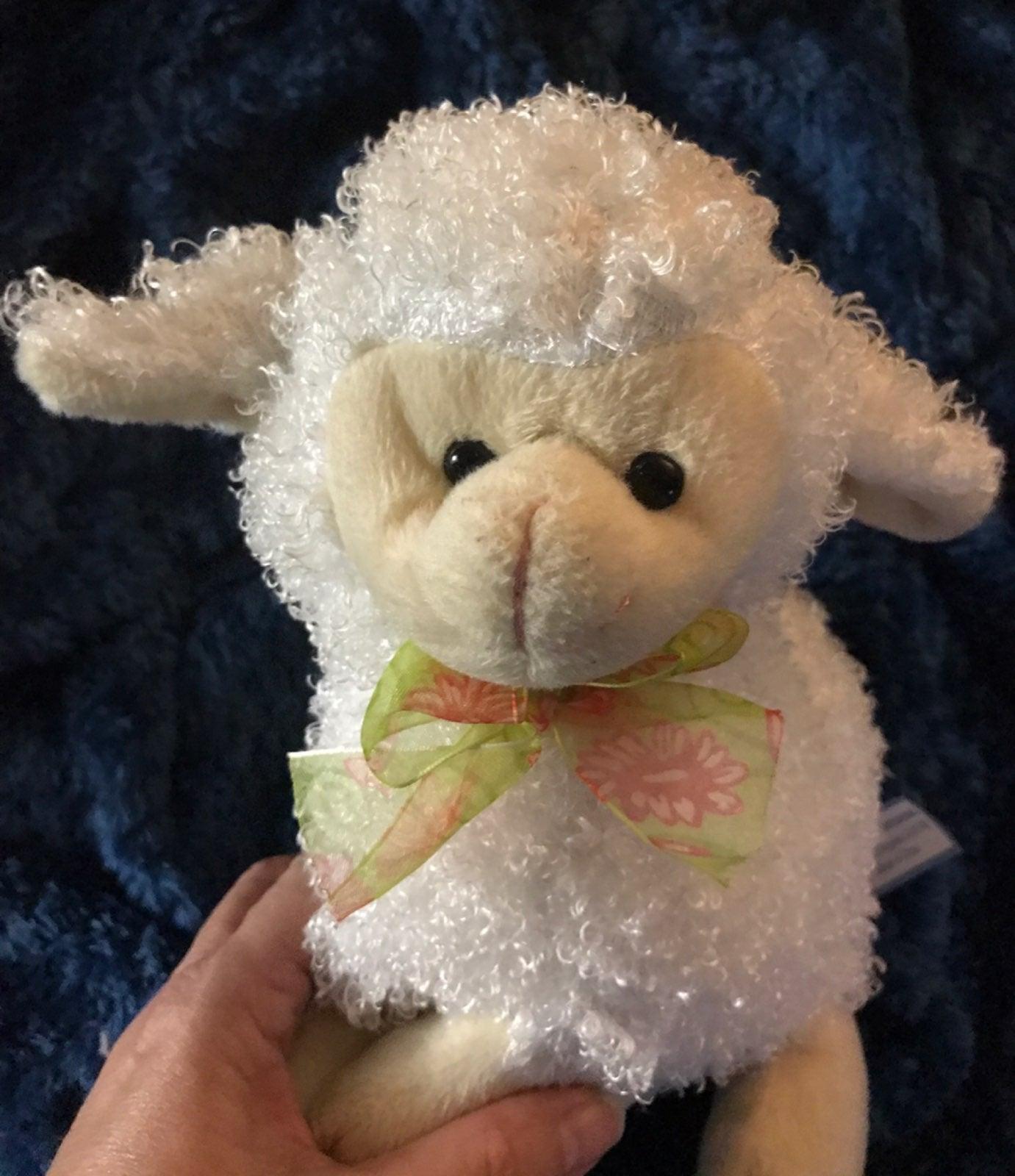 lamb toy hands