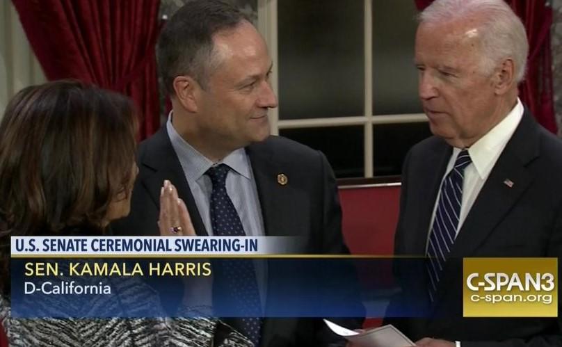 Harris Biden Senate 2017