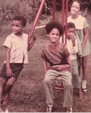 Kamala .Jamaican cousins.early.2